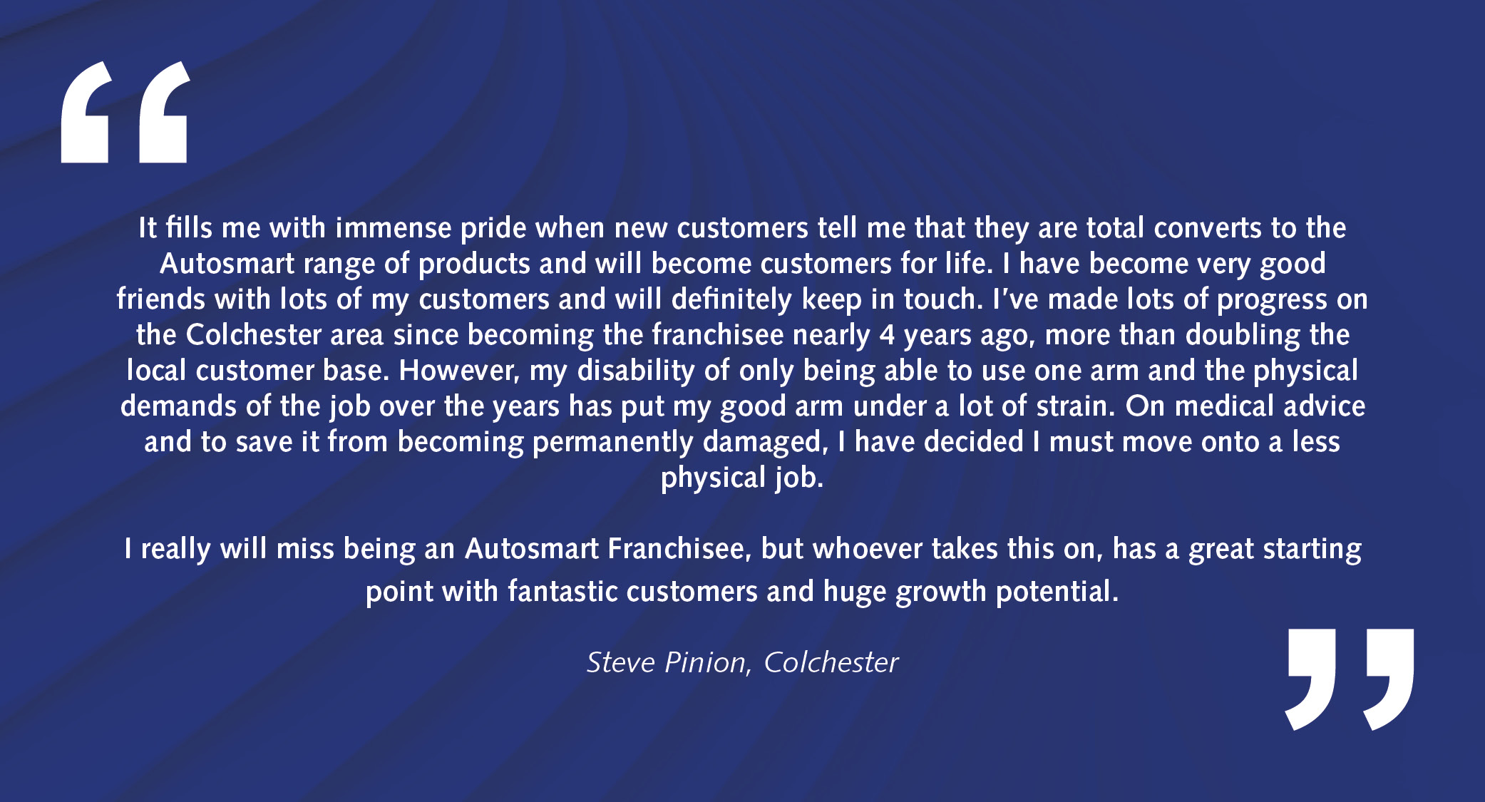 Autosmart Franchisee Opportunities Territory Testimonials3