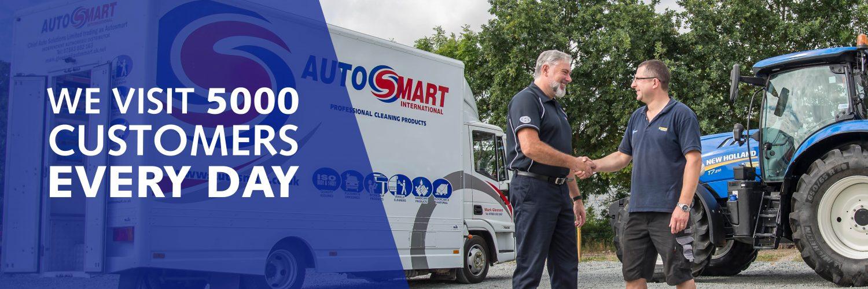 Autosmart Home Page Sliding Banners Service