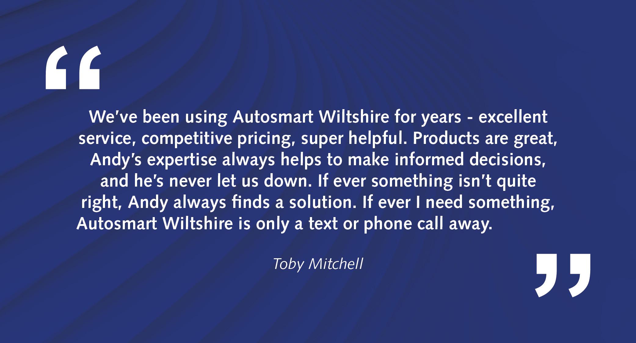 Autosmart Local Franchisee Service Customer Testimonials2