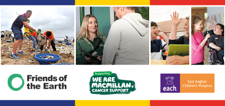 The charities we are supporting in 2019
