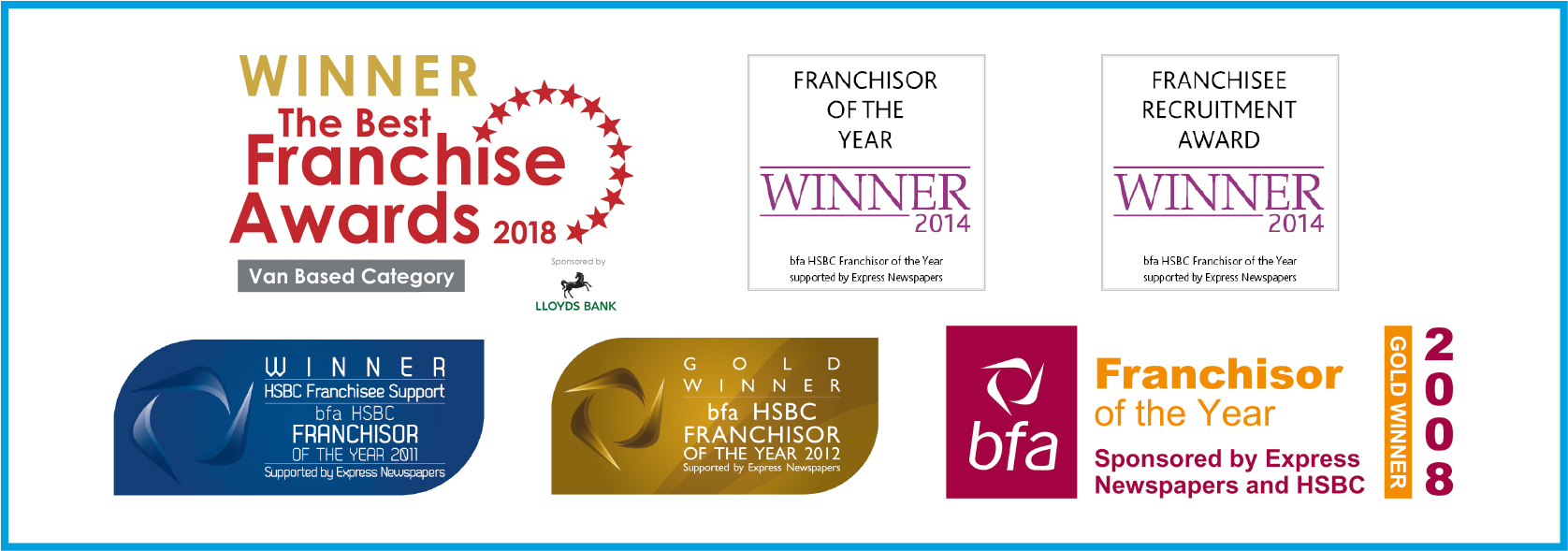 Franchisee Support Page Awards